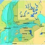 C-MAP 4D MAX Западная часть Финского залива - Аландские острова (EN-D309)