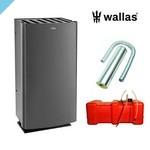 Нагреватель Wallas 26CC для дымохода графитовый серый