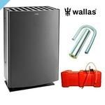 Нагреватель Wallas 40CC для дымохода графитовый серый