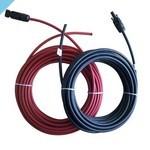 Монтажный кабель с водонепроницаемыми разъемами MC4 на 12 В 2 x 8 м
