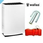 Комплект обогревателей Wallas 40CC для дымохода белый