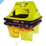 Модель корпуса спасательного плота ISO 9650-2 на 4 человека Seago Sea Cruiser