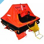 Модель корпуса спасательного плота Seago Sea Master на 12 человек по ISO 9650-1