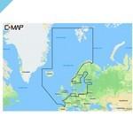 C-MAP 4D Северная и Центральная Европа, континентальный (M-EN-D050)