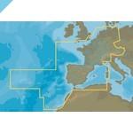 C-MAP 4D Центральная и Западная Европа, континентальный (M-EN-D060)