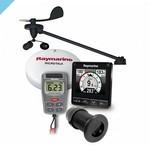 Многофункциональный измеритель Raymarine i70s с датчиком регистрации / эха / тепла и беспроводным датчиком ветра
