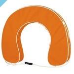 Подковообразный спасательный круг, оранжевый