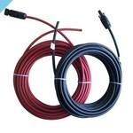 Монтажный кабель 12В с водонепроницаемыми разъемами MC4 2 x 5 м