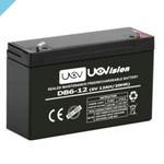Uovision 12Ah внешний желейный аккумулятор для рисовой камеры 6 В