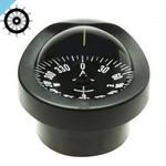 Встраиваемый компас Autonautic C12 / 110-0010 с розеткой 85 мм, черный