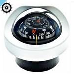 Autonautic C12 / 110-0014 встраиваемый компас с розеткой 85 мм, белый