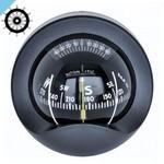 Переборочный компас Autonautic C9-0030 с розеткой 85 мм, черный