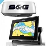 Картплоттер B&G Vulcan 9 FS + радар Halo20