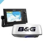 Многофункциональный дисплей B&G Zeus3S 9 + радар Halo20 +