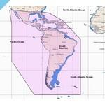 C-MAP DISCOVER South America и Carib Continental (M-SA-Y038-HS)