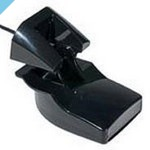 Пластиковый датчик транца Garmin, эхо / тепло 50/200 кГц, с 6-контактным разъемом