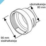 Усадочная муфта Webasto для Y-образного ответвления 90 мм, шланга 80 мм