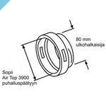 Термоусадка Webasto для выдувной головки AT3900 для шланга 80 мм