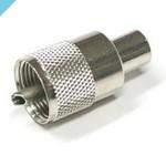 Штекер УВЧ Glomex RA132, Twist-On, для кабеля RG58