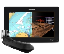 "Raymarine AXIOM 9 RV, Multi-function 9"" Display with integrated RealVision 3D, 600W Sonar with RV-100 transducer E70367-03"