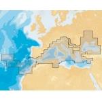 Картография Navionics + 43XG Средиземное море