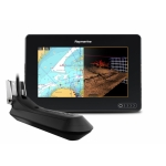 "Raymarine AXIOM 7 RV, Multi-function 7"" Display with RealVision 3D, 600W Sonar with RV-100 transducer E70365-03"