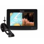 "Raymarine AXIOM 7 DV, Multi-function 7"" Display with integrated DownVision, 600W Sonar including CPT-S transducer E70364-01"