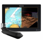 "Raymarine AXIOM 12 RV, Multi-function 12"" Display with integrated RealVision 3D, 600W Sonar with RV-100 transducer E70369-03"