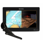 "Raymarine AXIOM 9 RV, Multi-function 9"" Display with integrated RealVision 3D, 600W Sonar with CPT-100DVS transducer E70367-02"