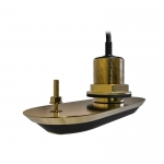Raymarine RV-212P RealVision 3D Bronze Through Hull Transducer Port 12°, Direct connect to AXIOM (2m cable)