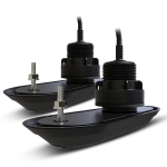 Raymarine Pack of RV-320 RealVision 3D Plastic Thru Hull Txds, Port &Starboard20°, Direct connect to AXIOM (2 x 2m, Y-cable and 8m extension cable)
