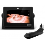 """Raymarine AXIOM+ 7 RV, Multi-function 7"""" Display with RealVision 3D, 600W Sonar with RV-100 transducer E70635-03"""