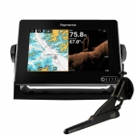 "Raymarine AXIOM 7 DV, Multi-function 7"" Display with integrated DownVision, 600W Sonar including CPT-100DVS transducer E70364-02"