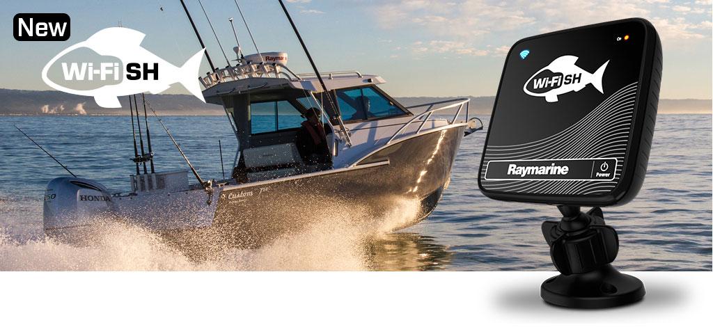 raymarine wi-fish wifi обзор